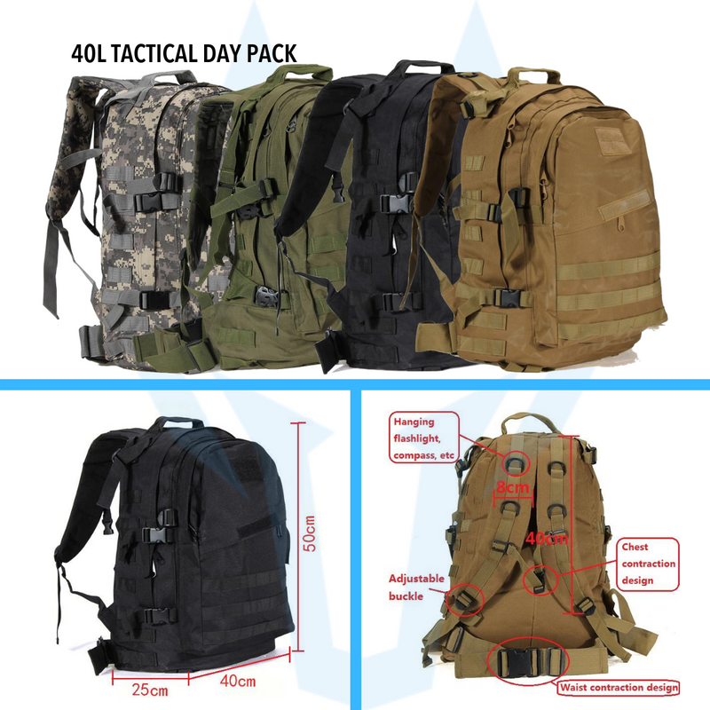 Survival Sets: 72-Hour Tactical Pack
