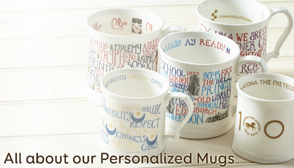 All about our Personalized Mugs