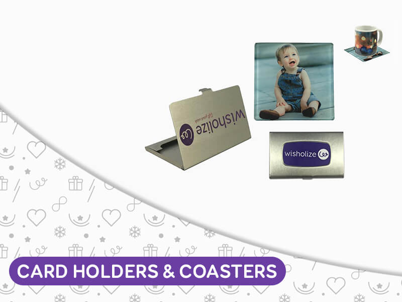 Card Holders and Coasters