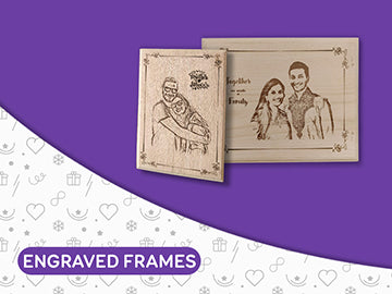Personalised Engraved Frames - Wisholize