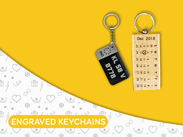 Personalised Engraved Keychains - Wisholize