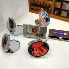 Personalised Mirrors & Business Card Holders - wisholize.com