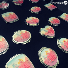 Personalised Compact Mirrors - wisholize.com