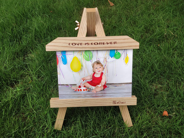 Easel Photo Stand - Horizontal