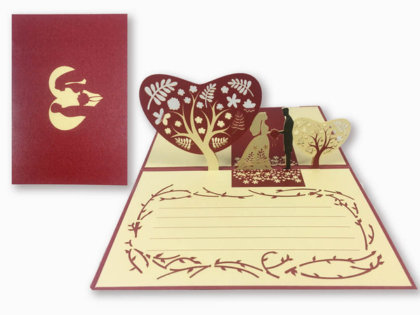 3D Pop Up Greeting Card - Love (P117)
