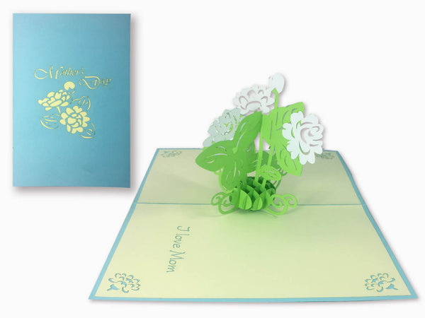 3D Pop Up Greeting Card - Mother's Day (P110)