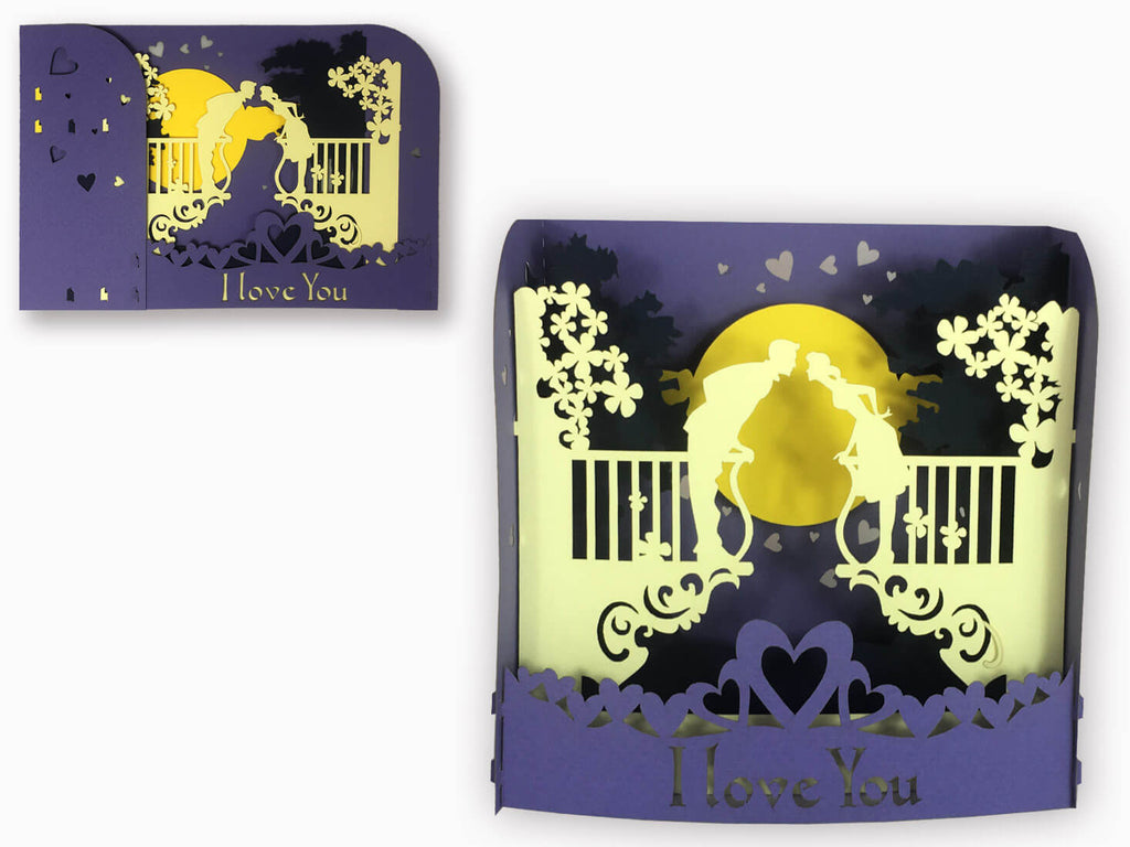 3D Pop Up Greeting Love Box (P111)