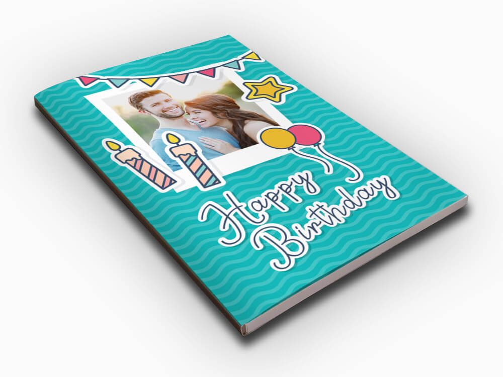 Personalised Audio Greeting Card - Birthday (AC102)