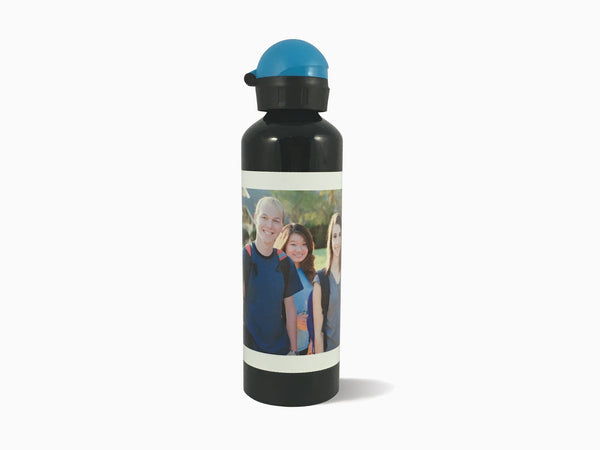 Aluminium Water Bottle - Black (750ml) - Water Bottle - Wisholize