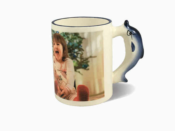 Animal Handle Mug - Dolphin - Mug - Wisholize