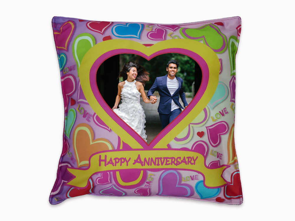 Printed Cushion - Anniversary (CN27)