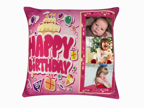 Printed Cushion - Birthday