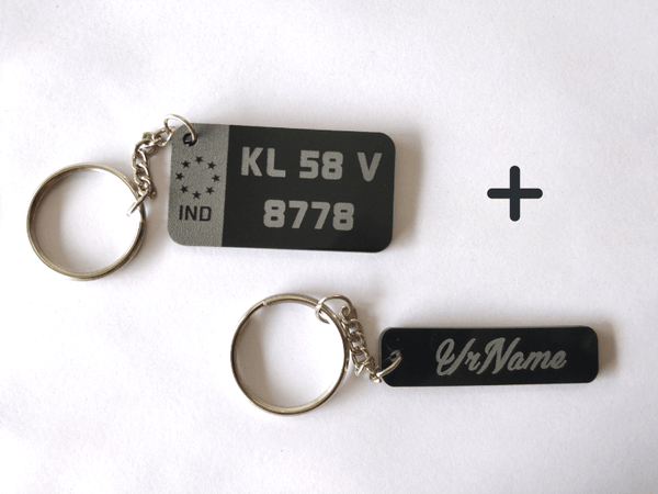 Engraved Key Chains Combo 1