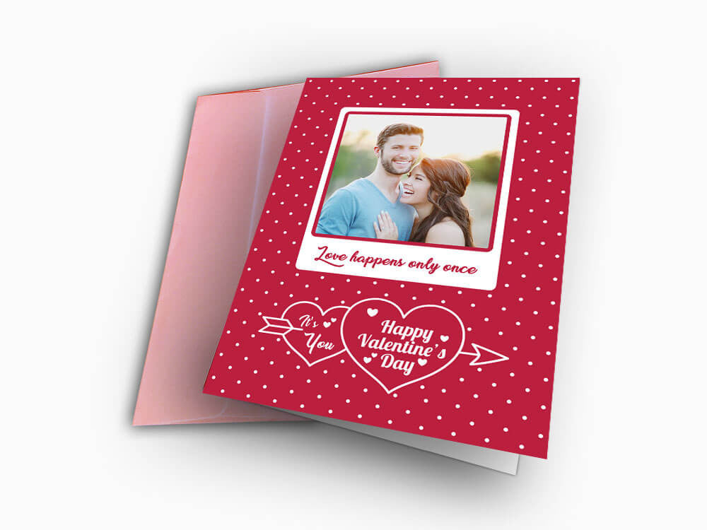 Valentines Day Card (C103) - Greeting Card - Wisholize - 1