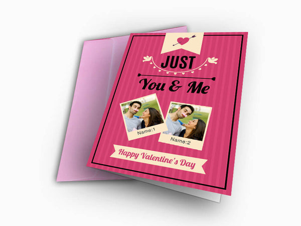 Valentines Day Card (C107) - Greeting Card - Wisholize - 1