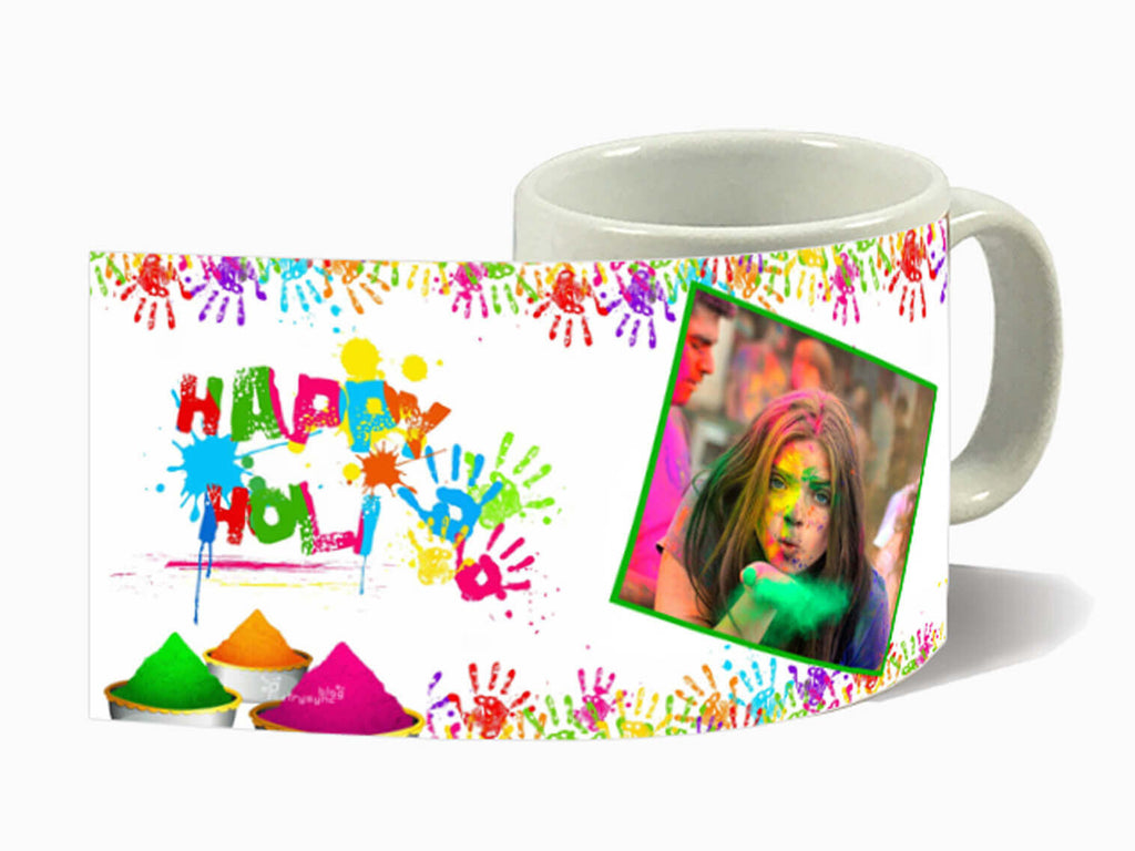 White Holi Mug (325 ml)