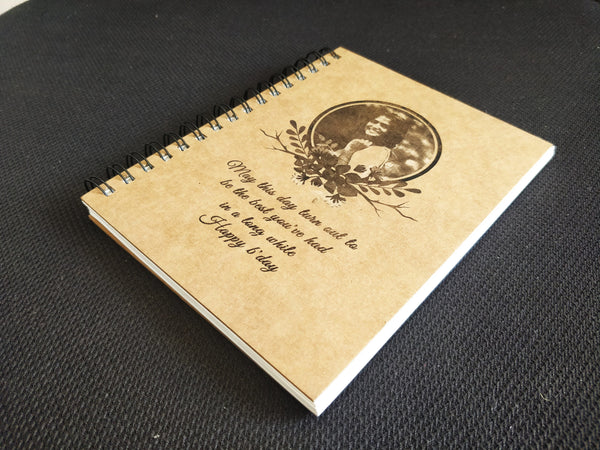 Personalised Engraved Cover Notepad (NP1)