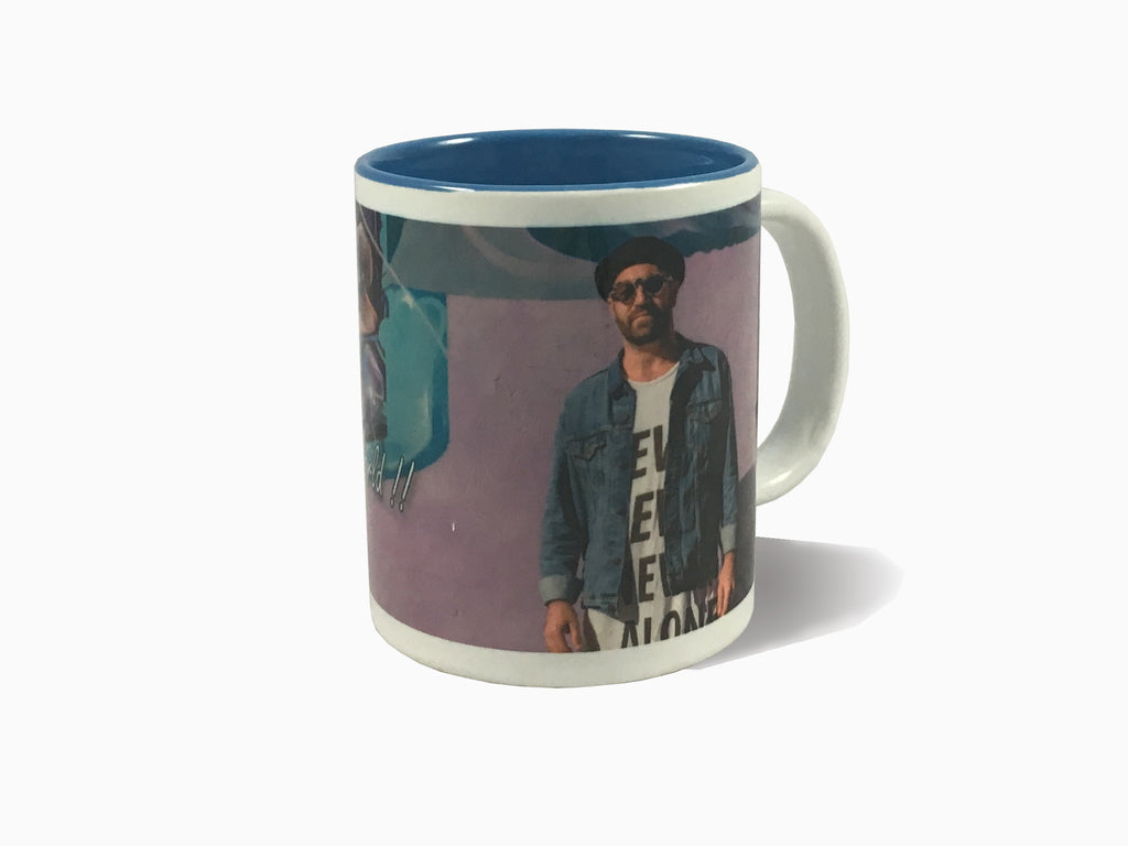 Inside Colour Mug - Blue (325ml) - Mug - Wisholize