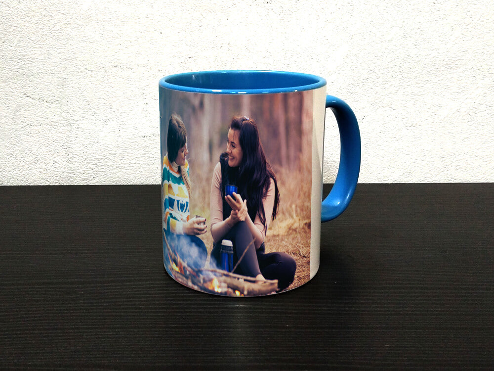 Inside Colour With Colour Handle Mug (M47)