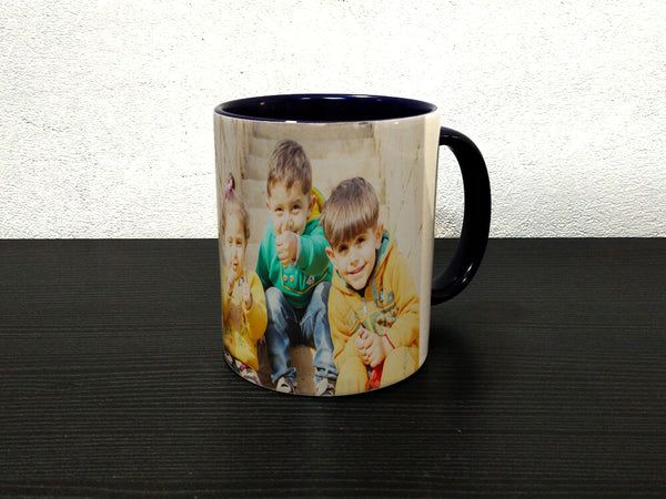 Inside Colour With Colour Handle Mug (M48)