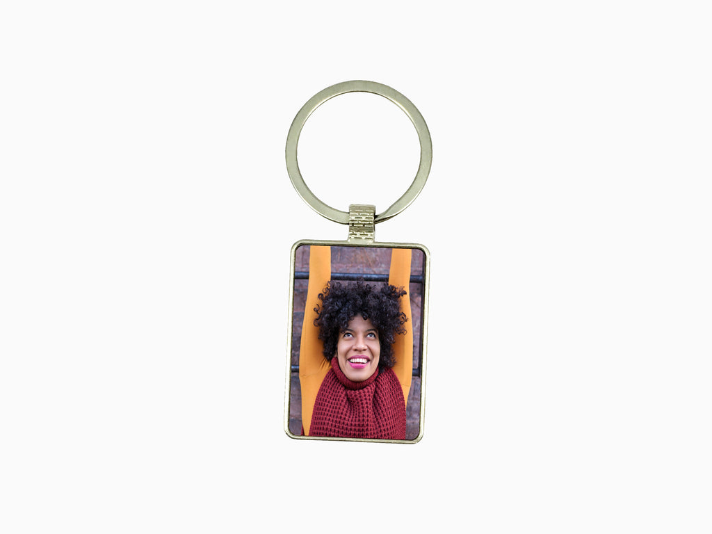 Metal Key Chain- Rectangle - Key Chain - Wisholize