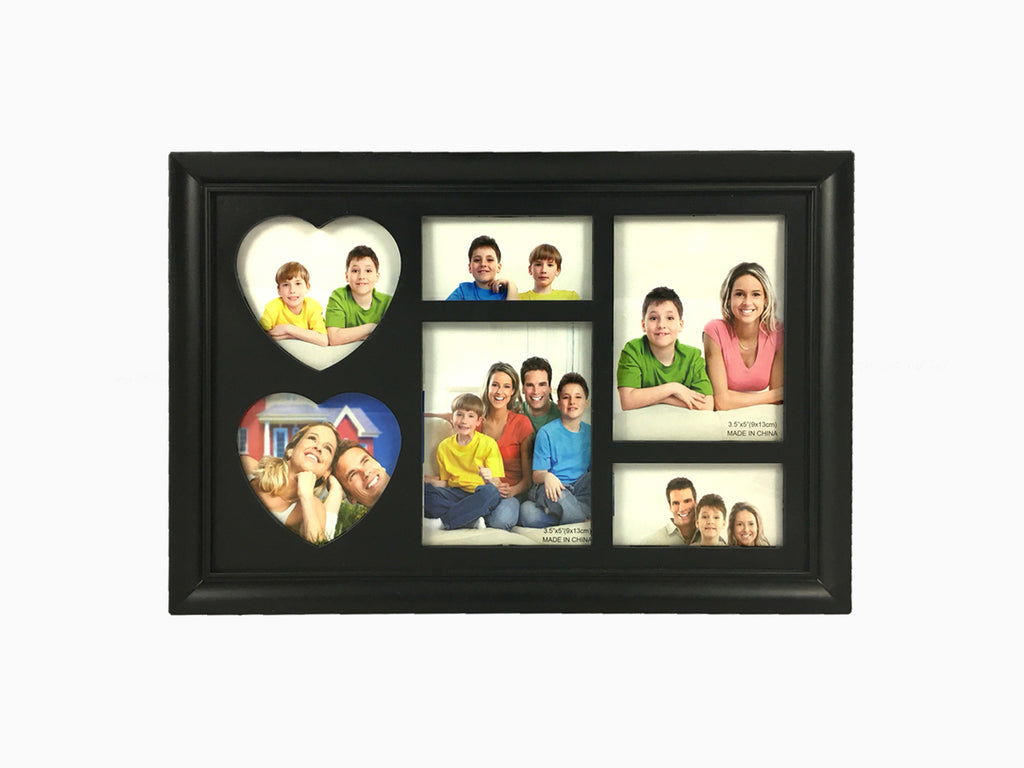Multi Pic Table Frame (6 Photos) - Photo Frame - Wisholize - 1