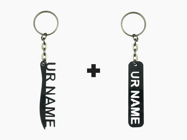 Name Key Chains Combo 1 (M101 + M102)