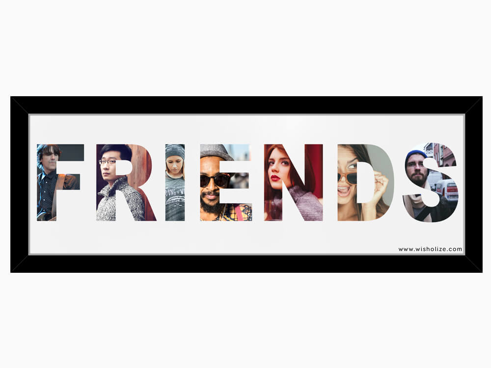 name frame friends - Name Picture Frames