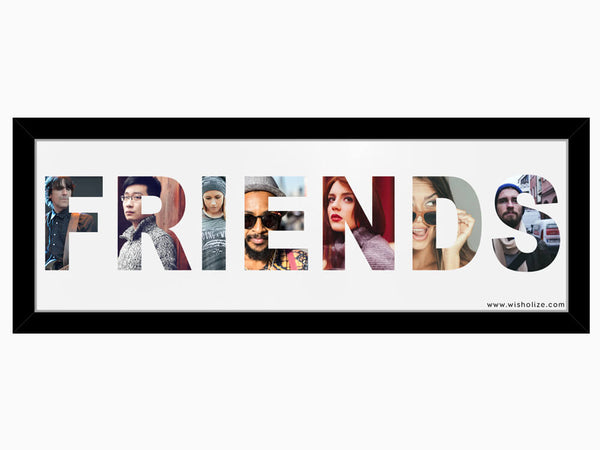 Name Frame - Friends