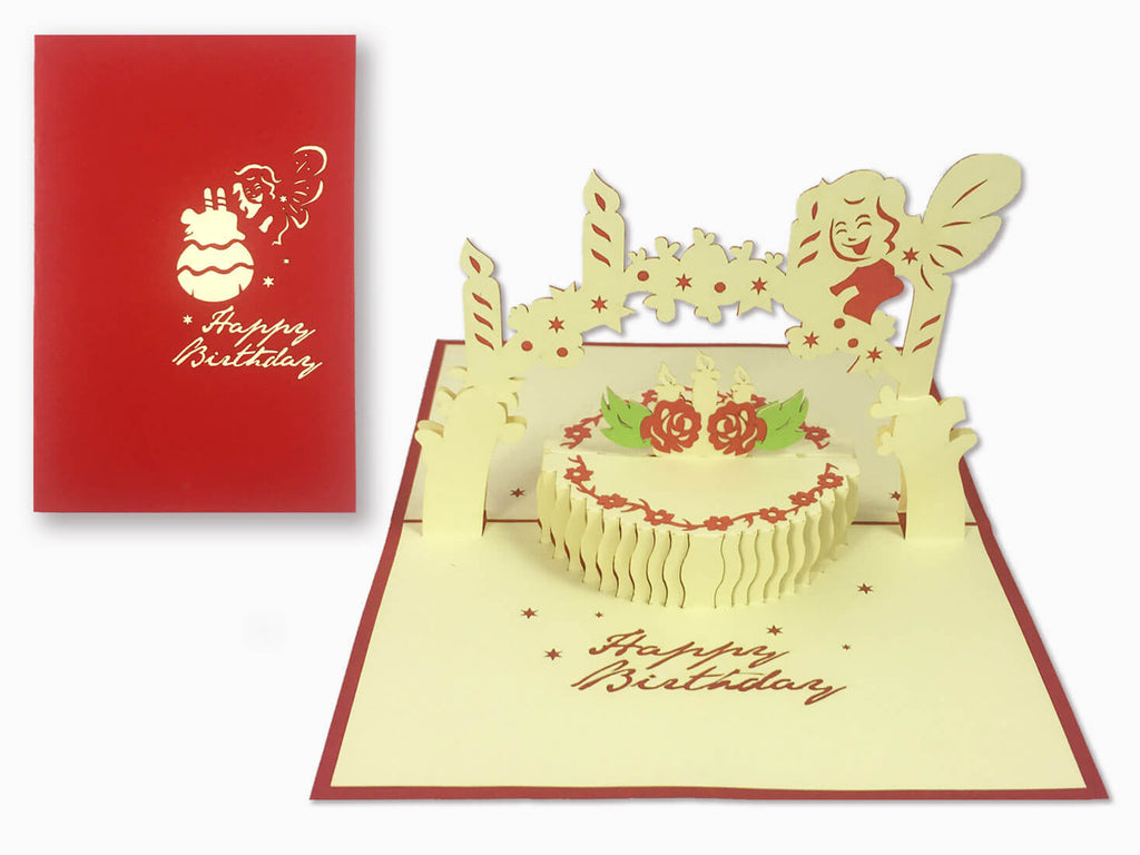 3D Pop Up Greeting Card - Birthday (P113)