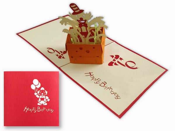 3D Pop Up Greeting Card - Birthday (P123)