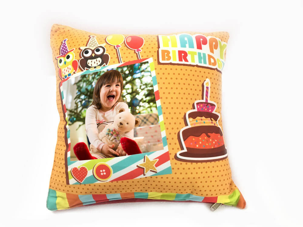 Printed Cushion - Birthday (Model 221)
