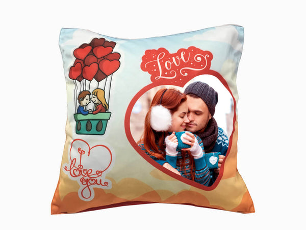 Printed Cushion - Love