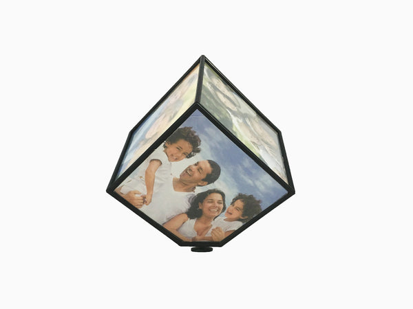 Rotating Photo Cube- Small - Photo Cube - Wisholize - 1