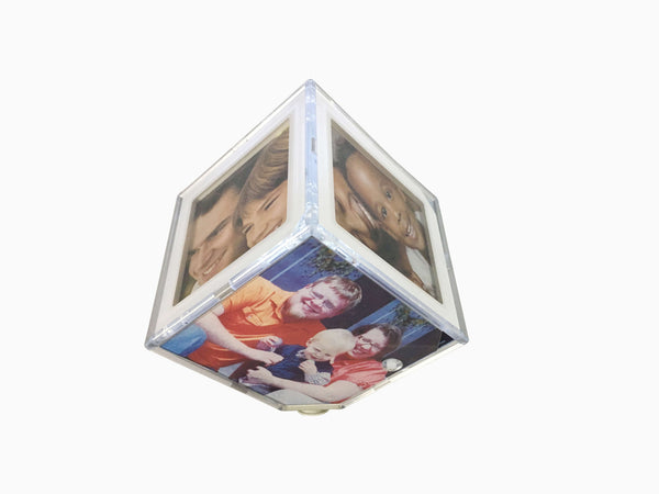 Rotating Photo Cube With Light - Photo Cube - Wisholize - 1