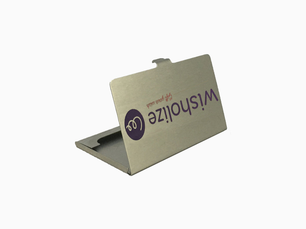 Metal Visiting Card Holder M1 - Visiting Card Holder - Wisholize - 1