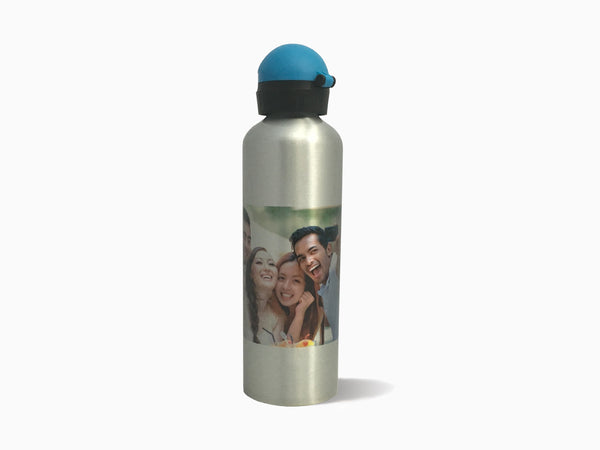 Silver Water Bottle (750ml) - Water Bottle - Wisholize