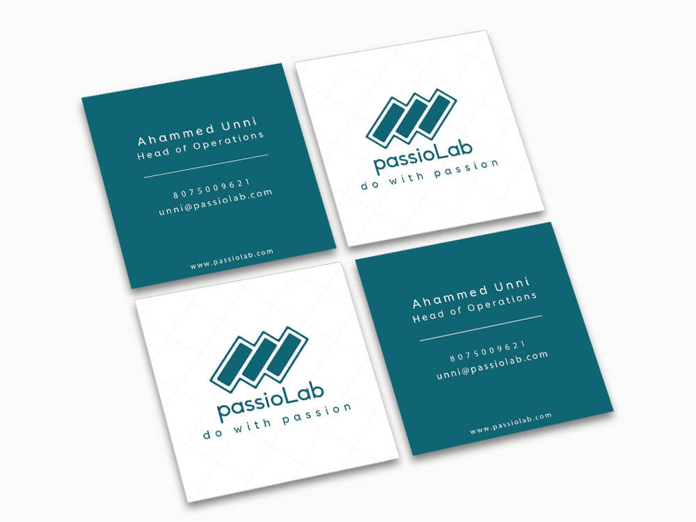 Square Business Card - Business Card - Wisholize