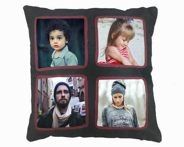 Designer Cushion - Square 4 Photos (M 208)