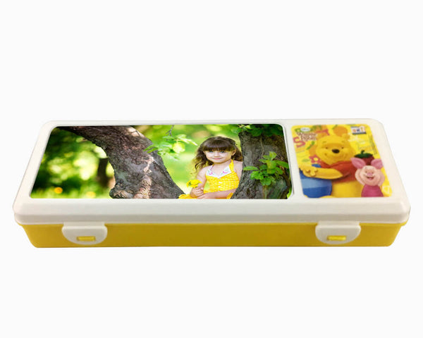 Pencil Box- Yellow (Model 101)