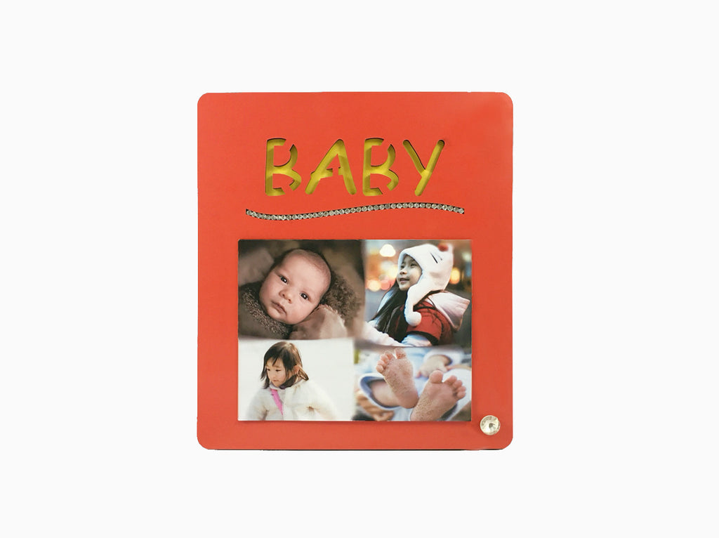 Wooden Table Frame- Baby - Photo Frame - Wisholize