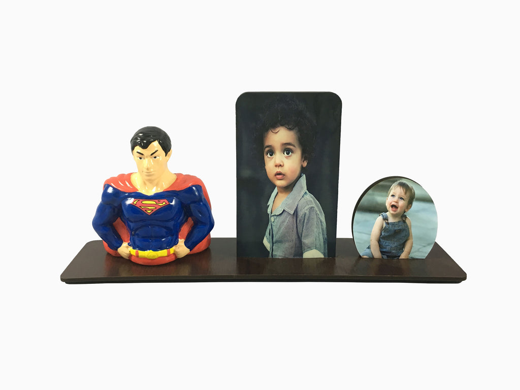 Wooden Table Frame- Kids (2 Photos) - Photo Frame - Wisholize - 1
