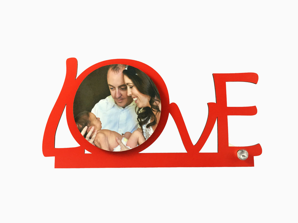 Wooden Table Frame- Love (TFW10) - Photo Frame - Wisholize