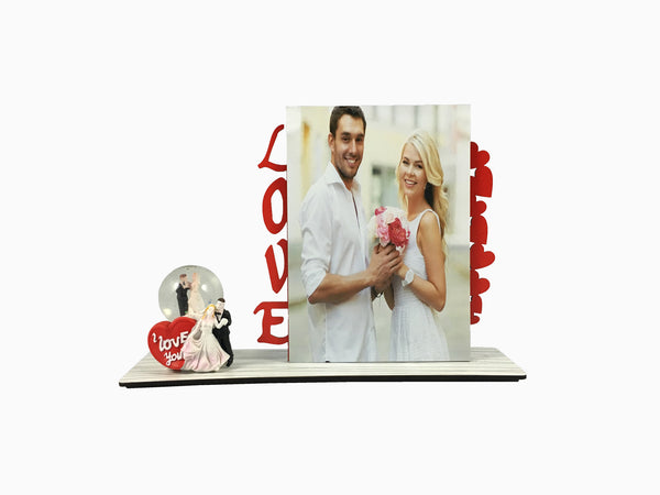 Wooden Table Frame- Love (TFW16) - Photo Frame - Wisholize