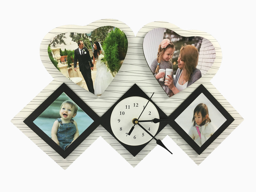Wooden Wall Clock (4 Photos) - Clock - Wisholize - 1