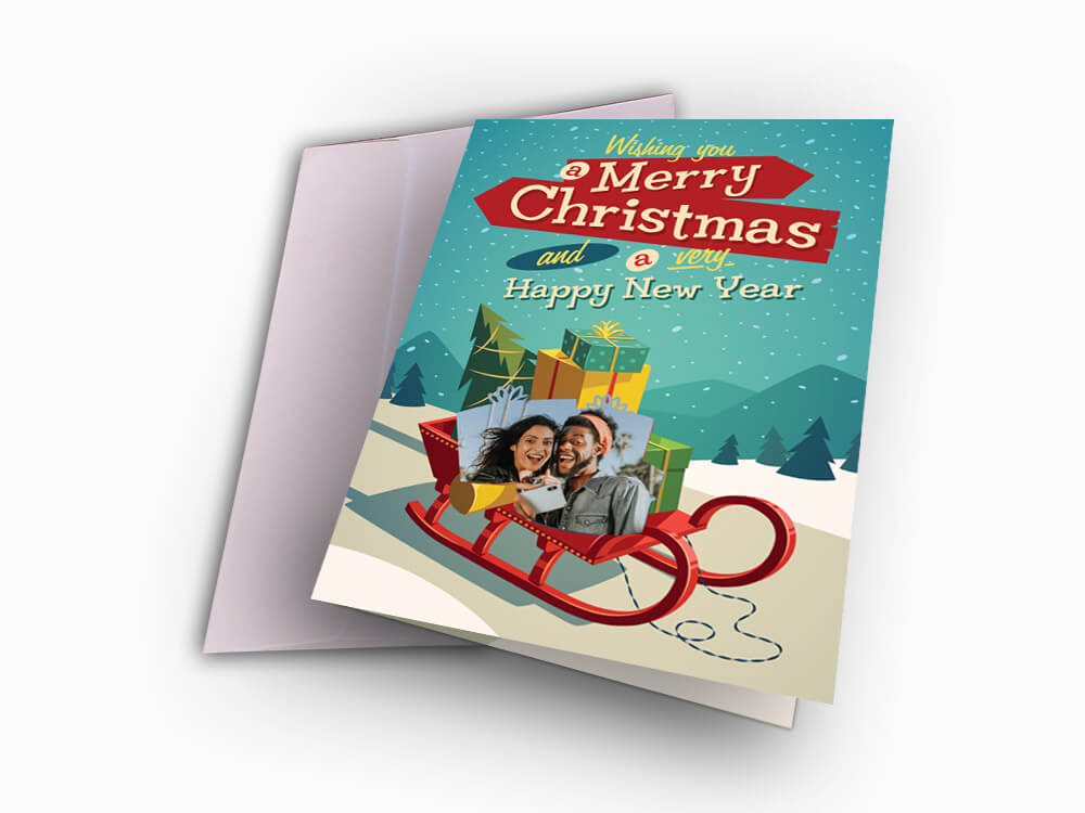 Christmas & New Year Card (XNGC1)