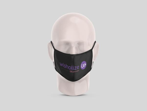 My Logo On My Mask (Pack of 2/5/10)