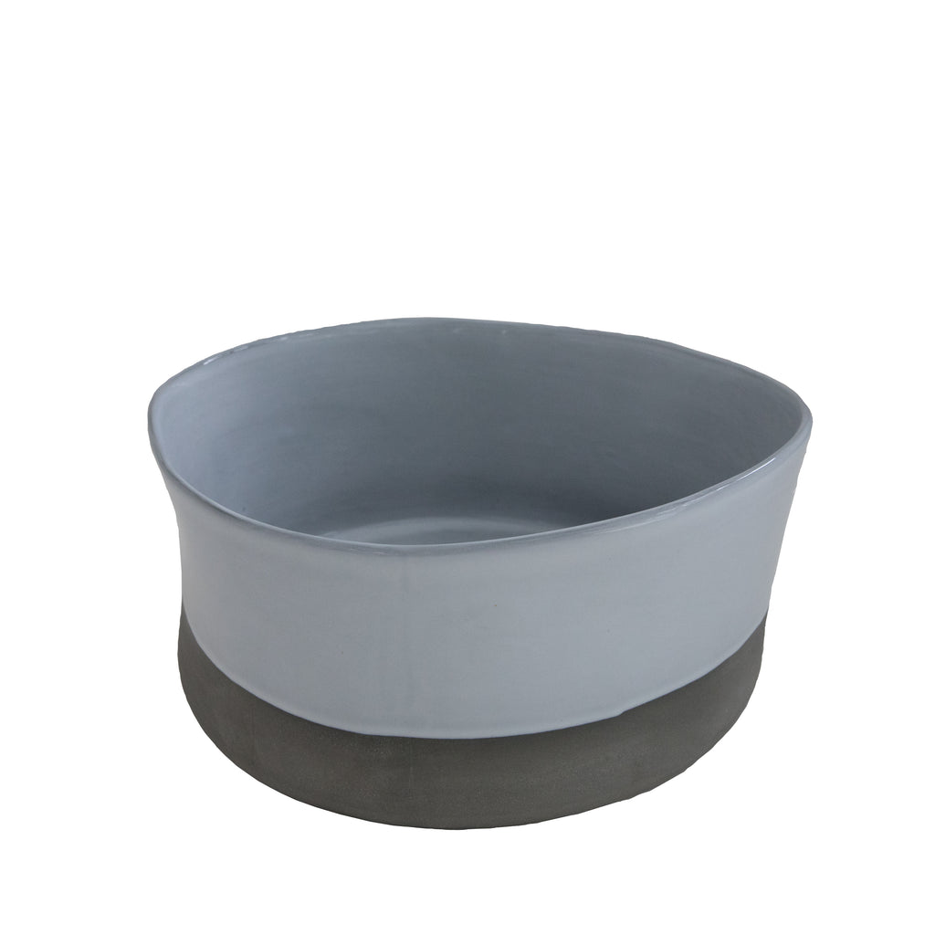 Large White Ceramic Bianca Bowl