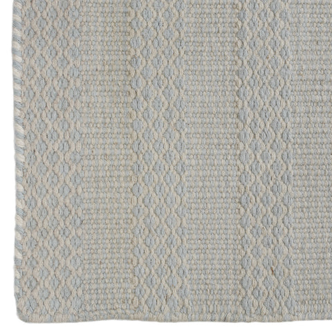 Hexagon Dhurrie Rug