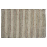Striped Jute & Metallic Rug